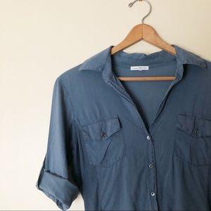 ✨🆕 James Perse l Utility Button Front Shirt